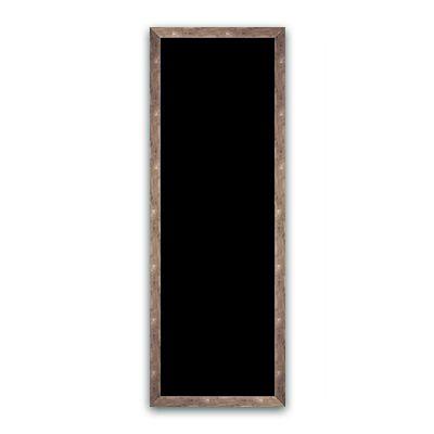 Ardoise noire vierge argent 50x140 cm (photo)