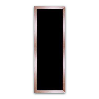 Ardoise noire vierge métal 50x140 cm (photo)