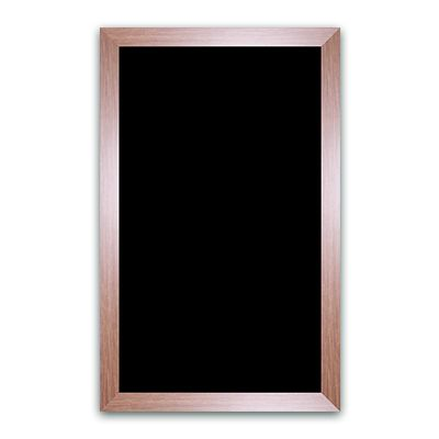 Ardoise noire vierge chêne 50x80 cm (photo)