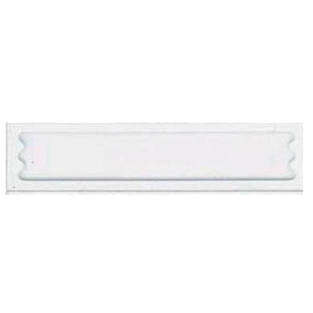 Antivol étiquette adhésive blanche désactivable 10x40 mm par 5000 unités (photo)