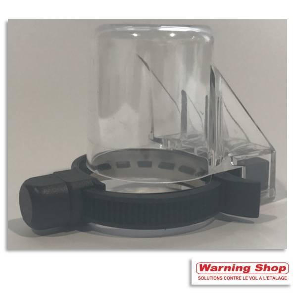 Antivol alcool bouchon rouge am -anneau métallique verrou super par 100 unités (photo)