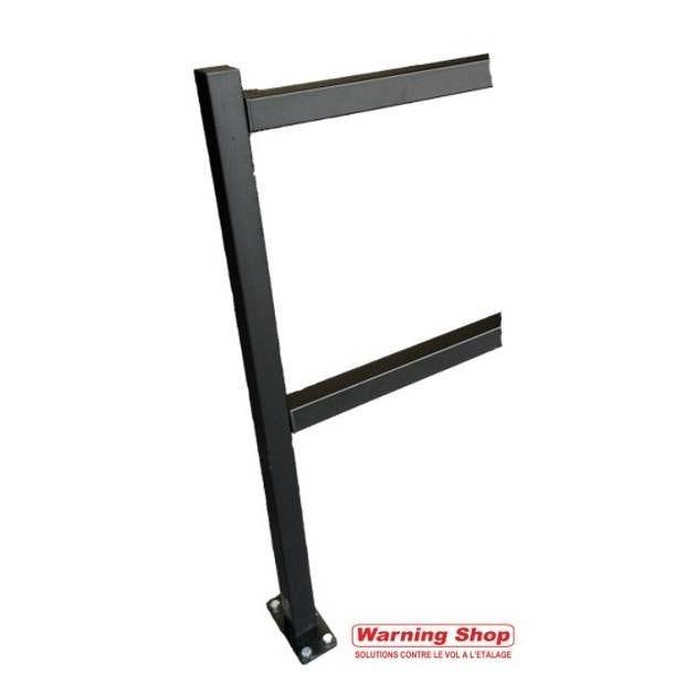 Complément poteau et barres de guidage 150 cm - black (photo)