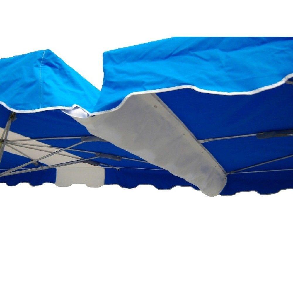 Gouttière bleue 350 x 55 cm (photo)