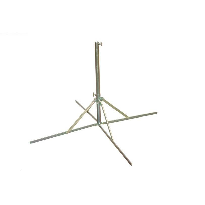 Pied 4 branches de 10 kg pour parasol forain