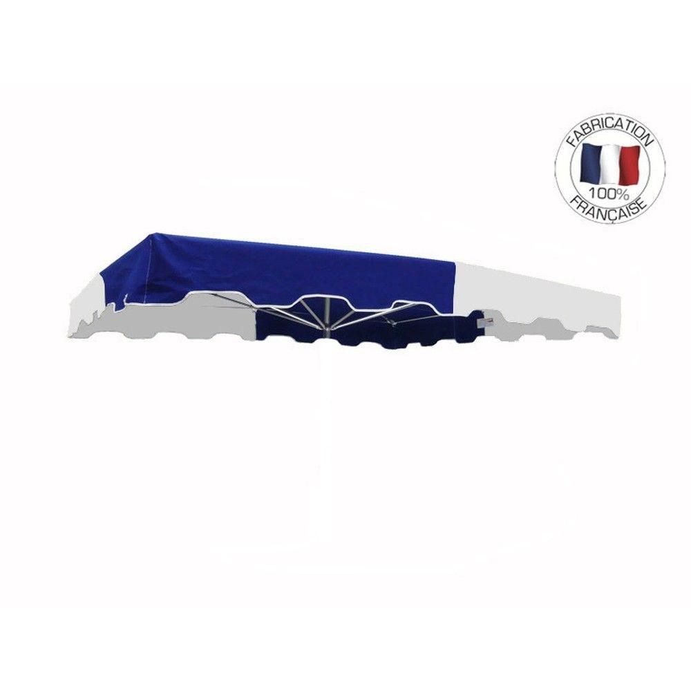 Toile seule 220x180cm Bleu-Blanc