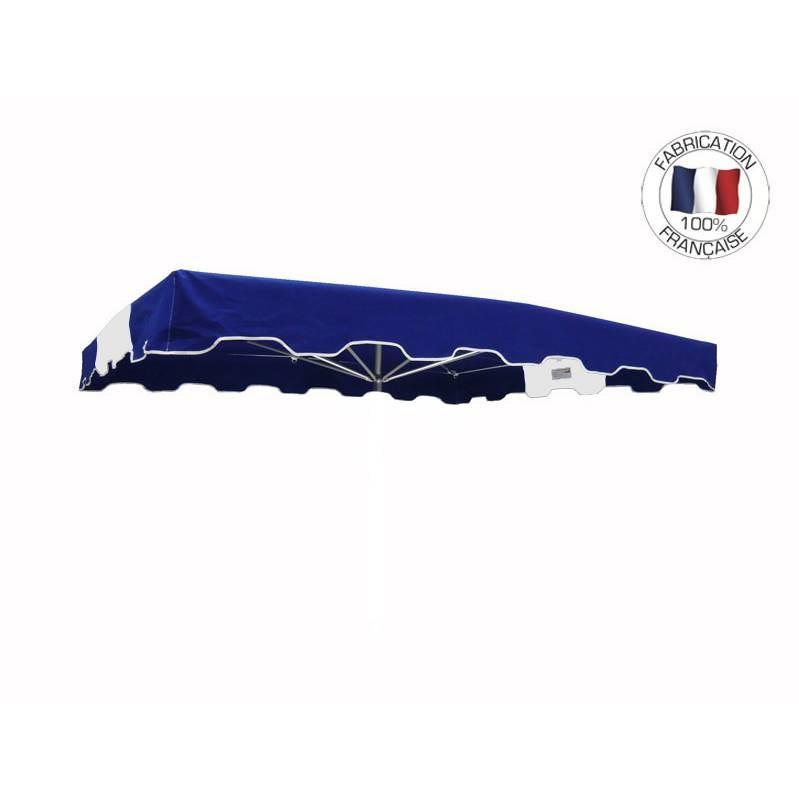 Toile seule 350x300cm Bleu-Blanc