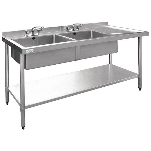 Evier vogue inox - 1800 x 600 (photo)
