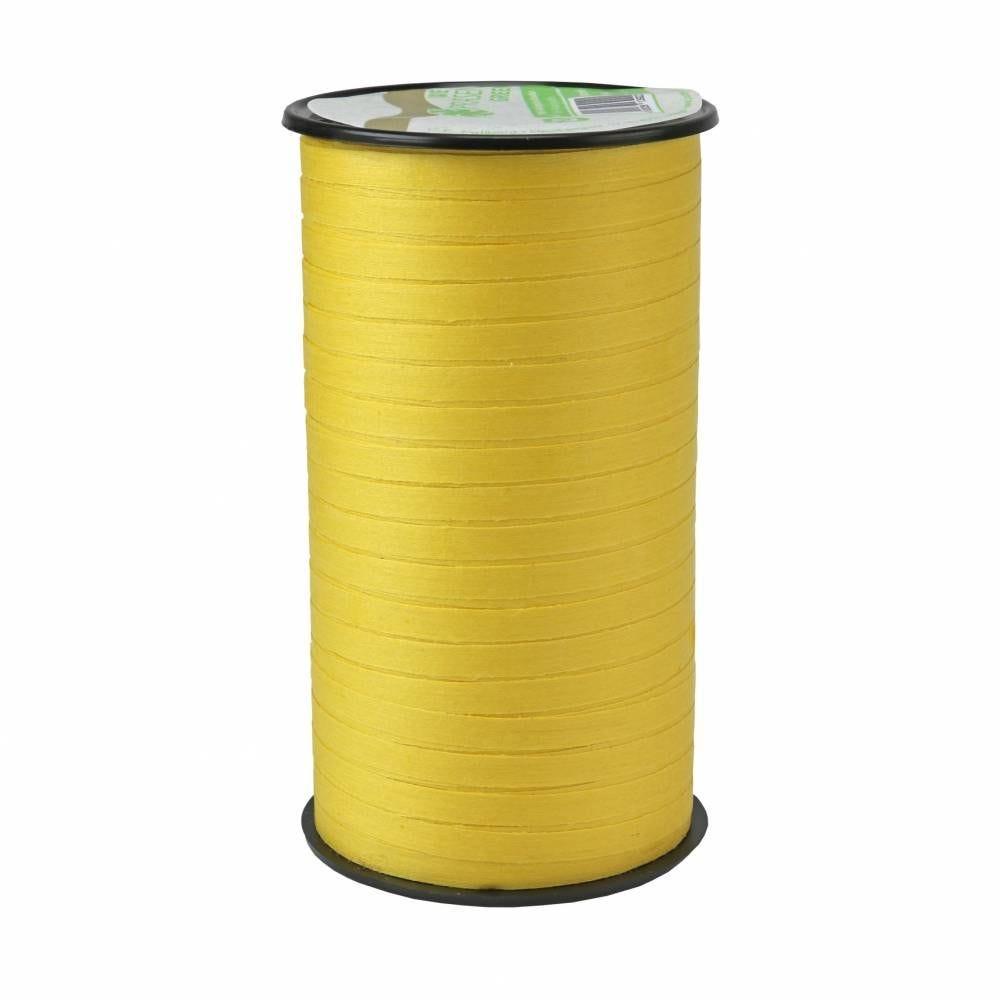 Bolduc mat 5 mm x 100 m jaune