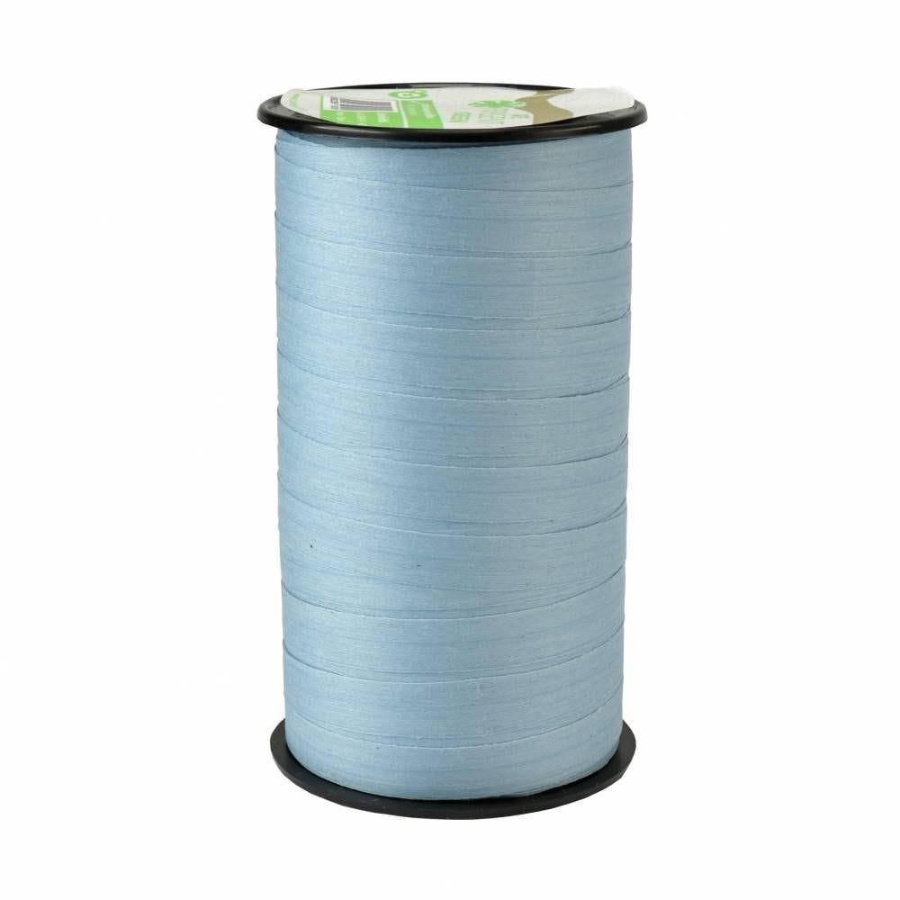 Bolduc mat 10 mm x 50m bleu clair