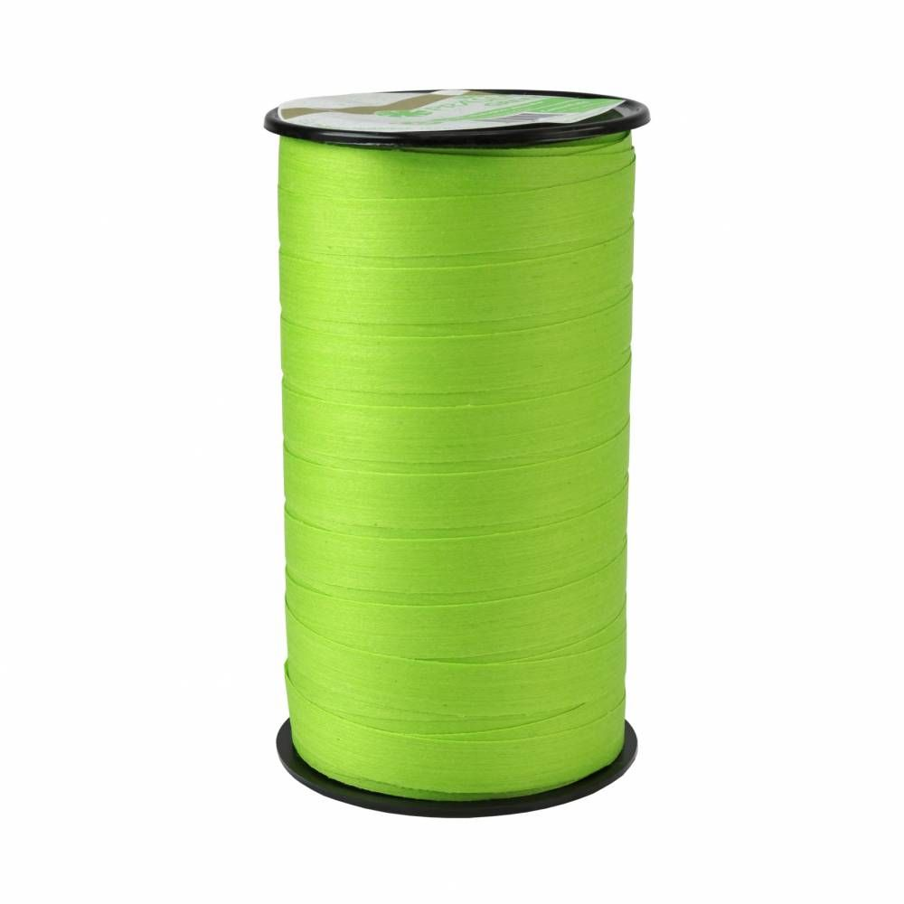 Bolduc mat 10 mm x 50m vert clair
