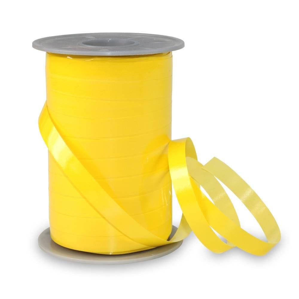 Bolduc laque 10 mm x 200 m jaune