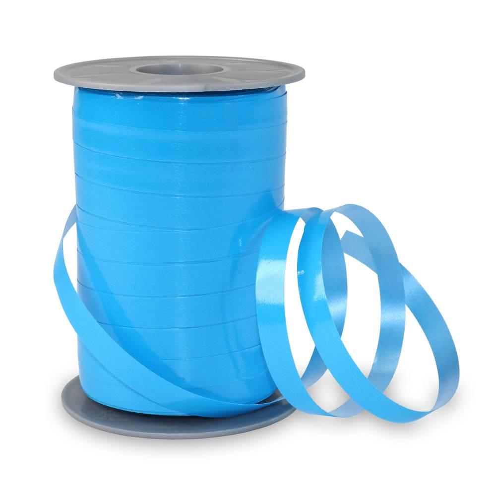 Bolduc laque 10 mm x 200 m bleu