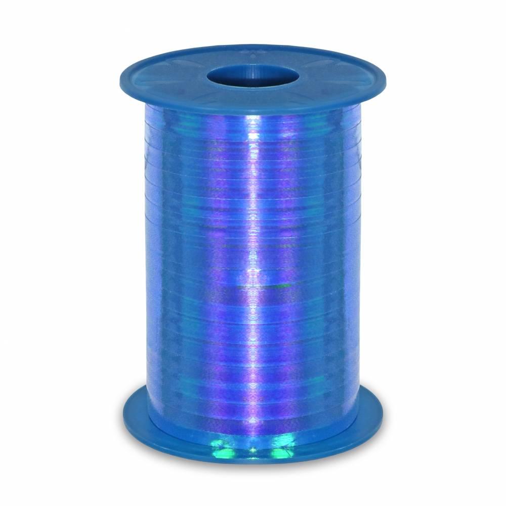 Bolduc irisée 10 mm x 200 m bleu