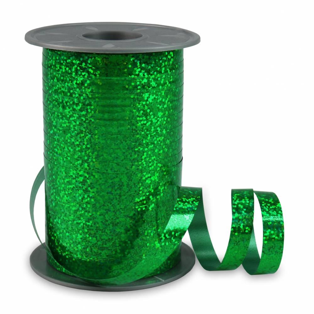 Bolduc holographique 10 mm x 200 m vert