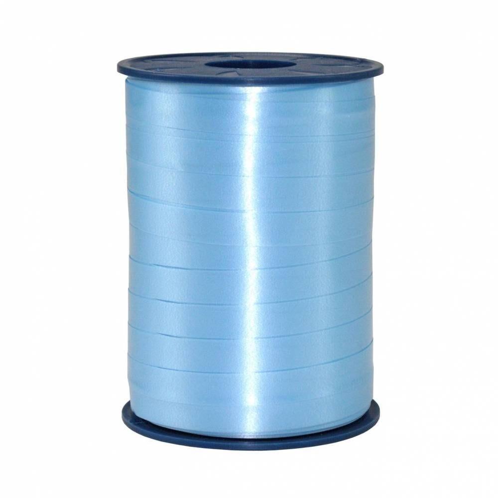 Bolduc standard satiné 10 mm x 250 m bleu clair