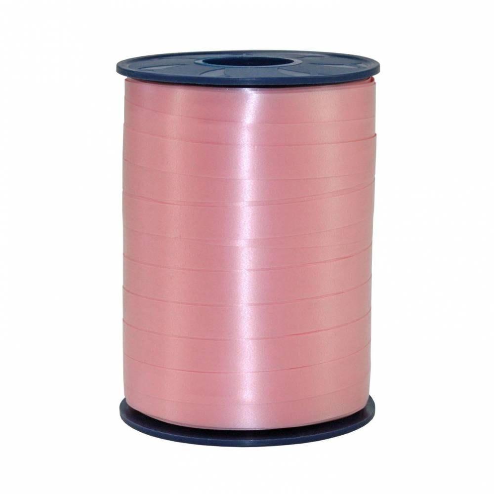 Bolduc standard satiné 10 mm x 250 m rose clair