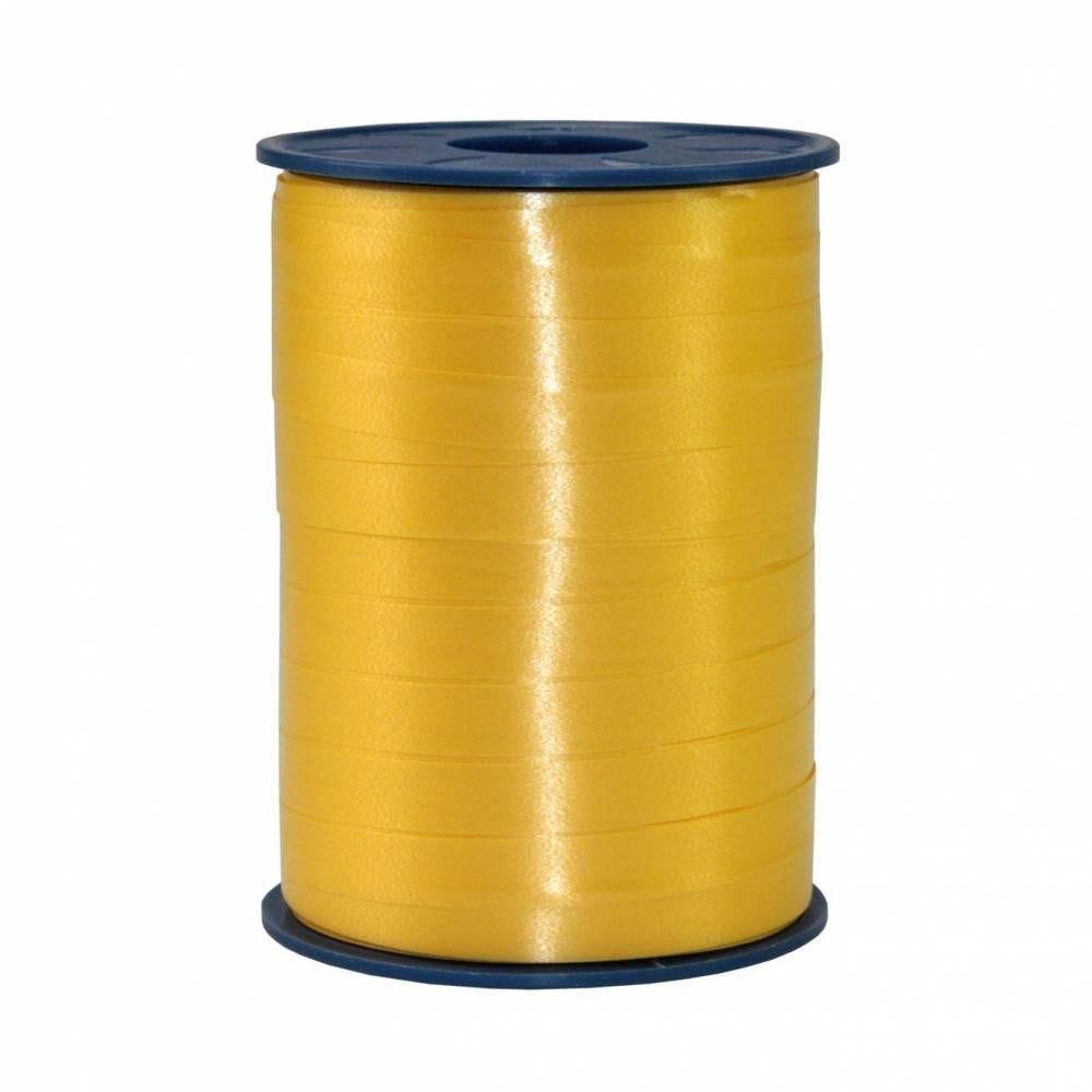 Bolduc standard satiné 10 mm x 250 m jaune