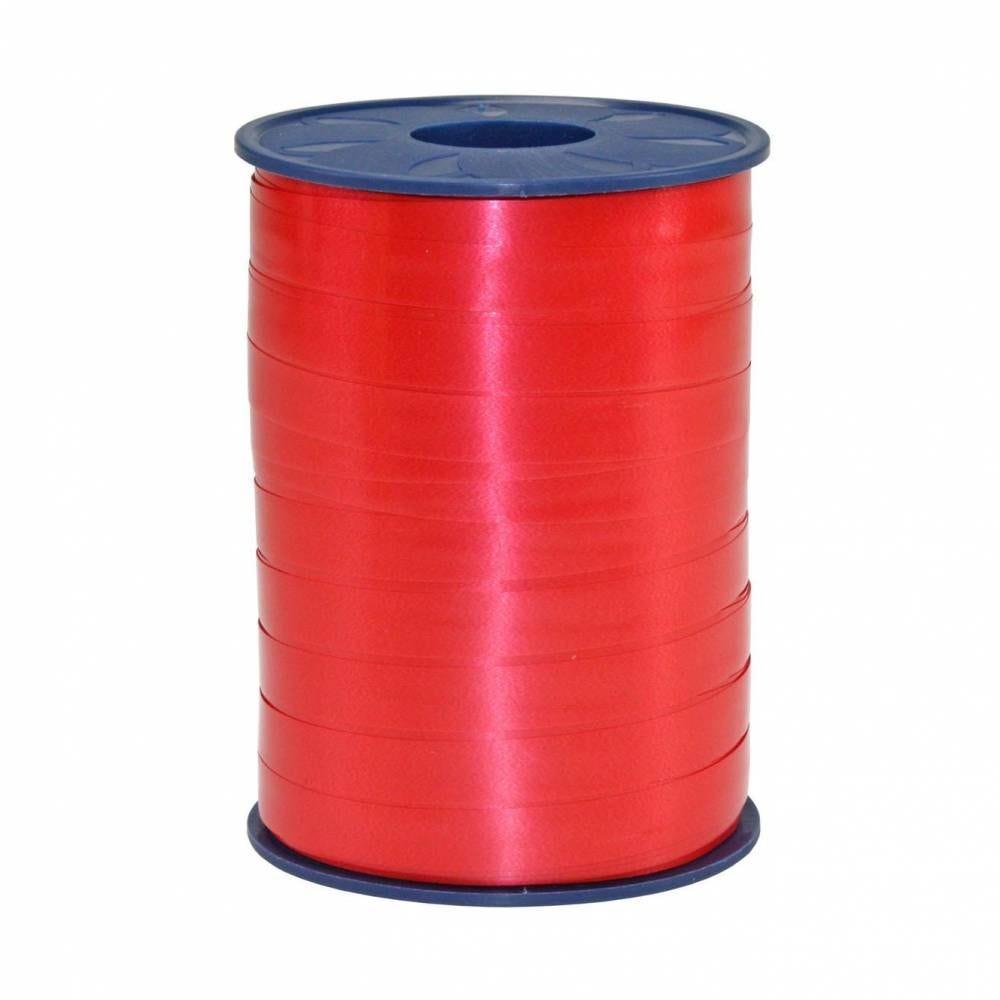 Bolduc standard satiné 10 mm x 250 m rouge