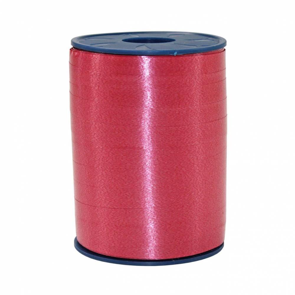 Bolduc standard satiné 10 mm x 250 m rouge vermillon