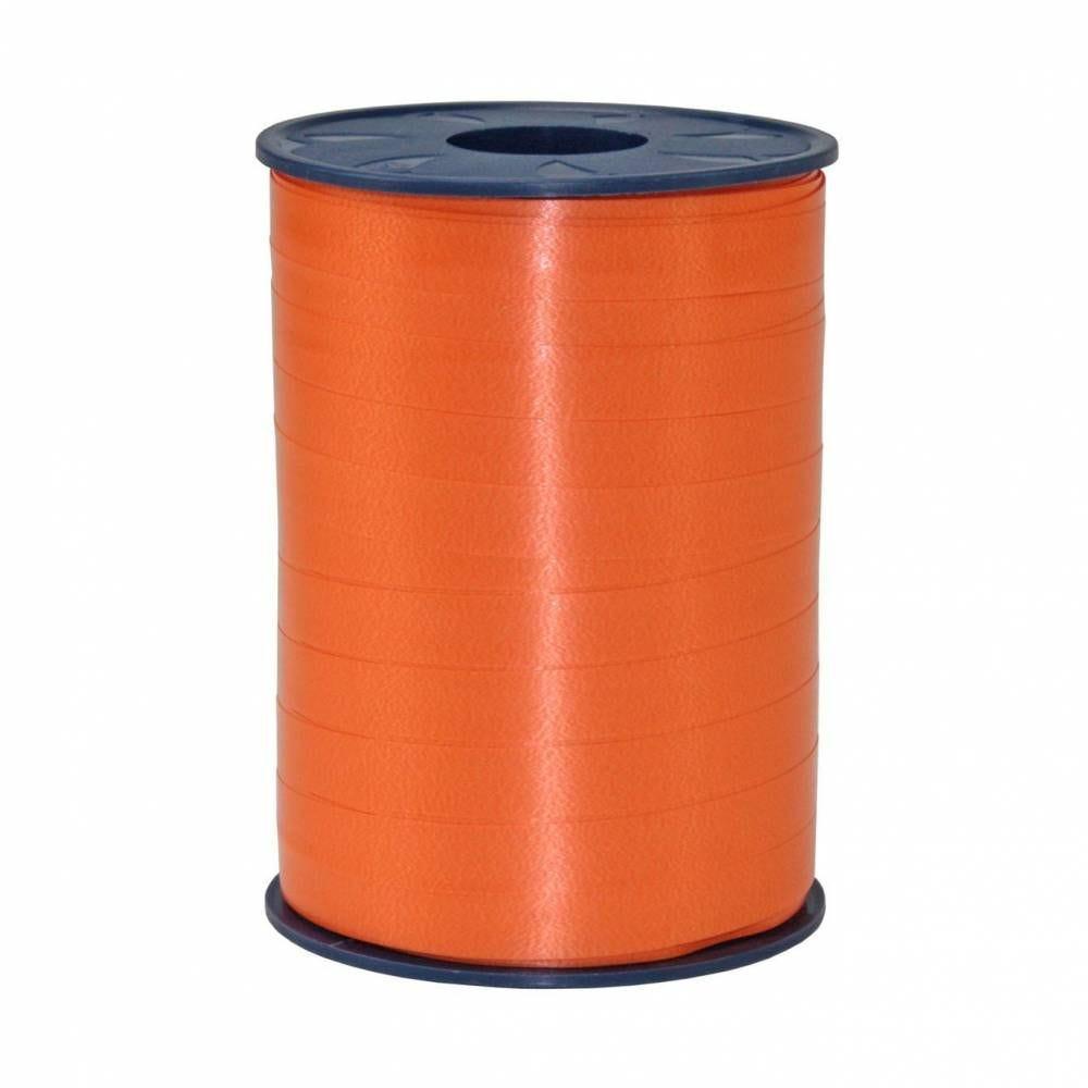 Bolduc standard satiné 10 mm x 250 m orange