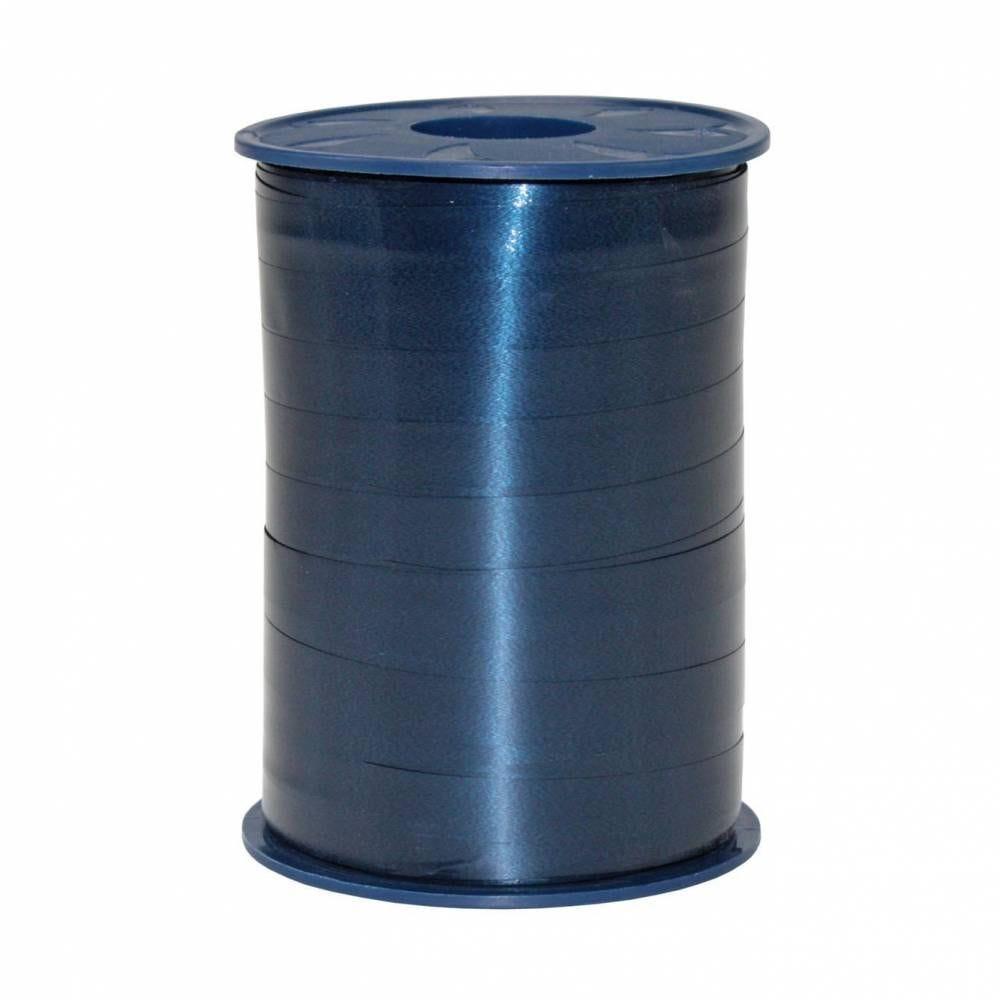 Bolduc standard satiné 10 mm x 250 m bleu foncé