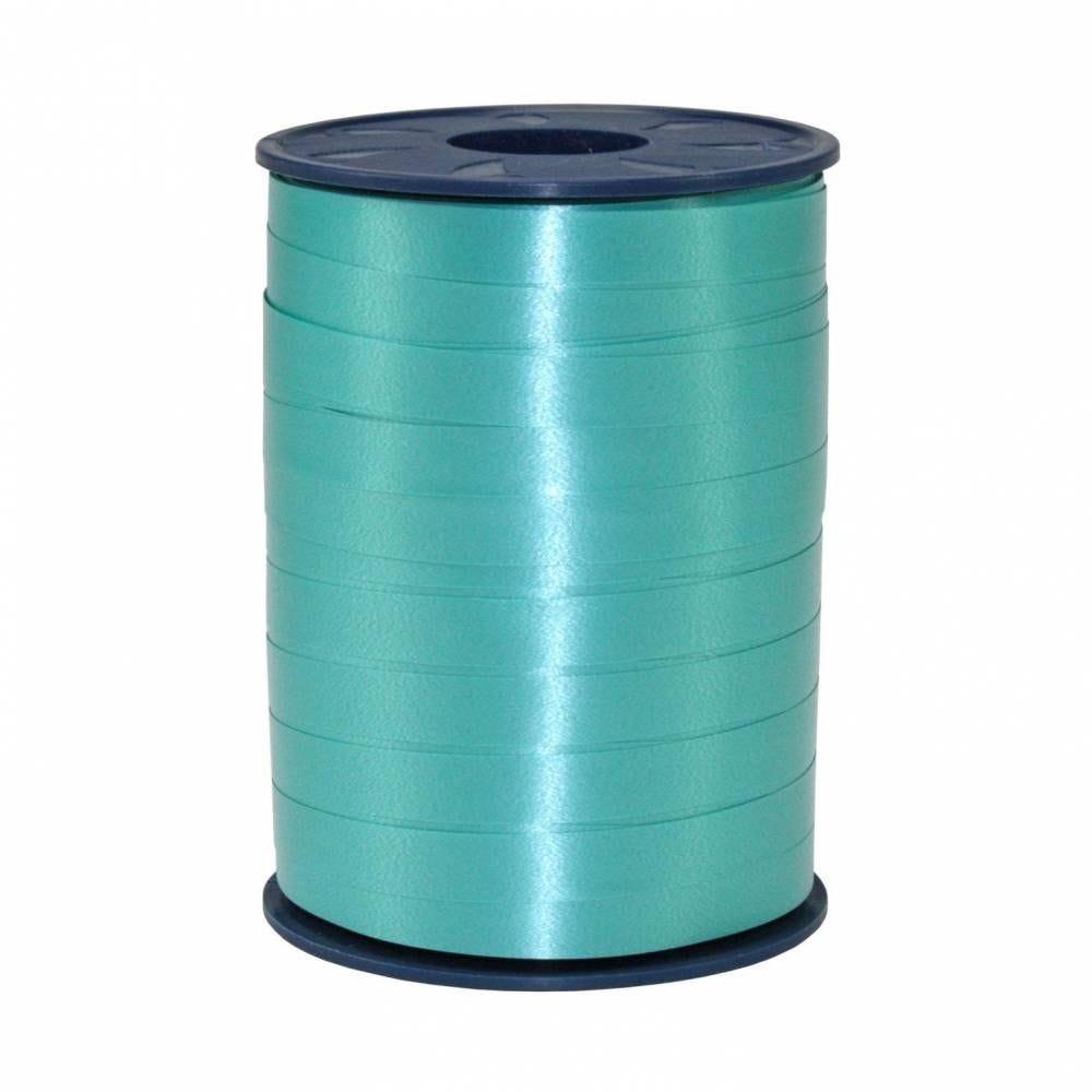 Bolduc standard satiné 10 mm x 250 m turquoise