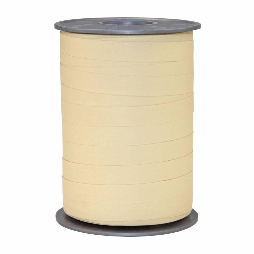 Bolduc mat 10 mm x 200 m crème foncé