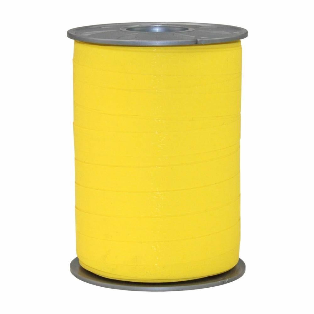 Bolduc mat 10 mm x 200 m jaune foncé