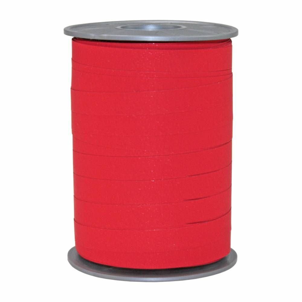 Bolduc mat 10 mm x 200 m rouge foncé