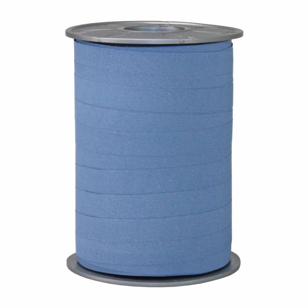 Bolduc mat 10 mm x 200 m bleu marine clair