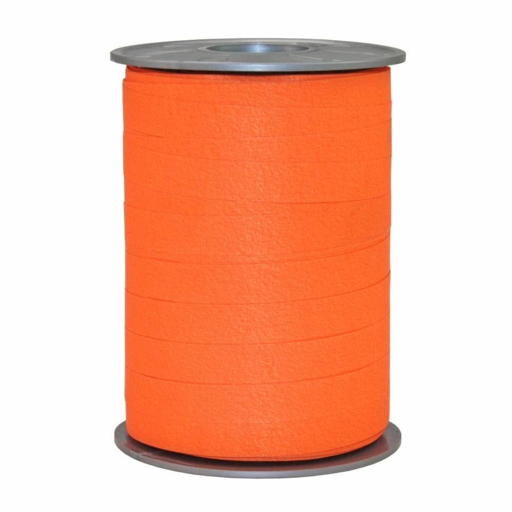Bolduc mat 10 mm x 200 m orange clair