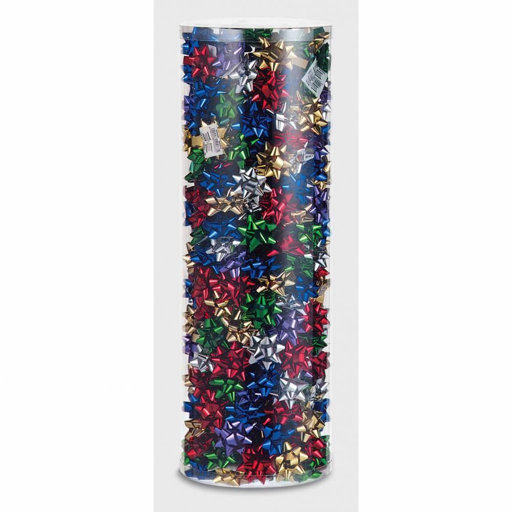 Nœud adhésif diamètre 50 mm 5 coloris par 250 (photo)