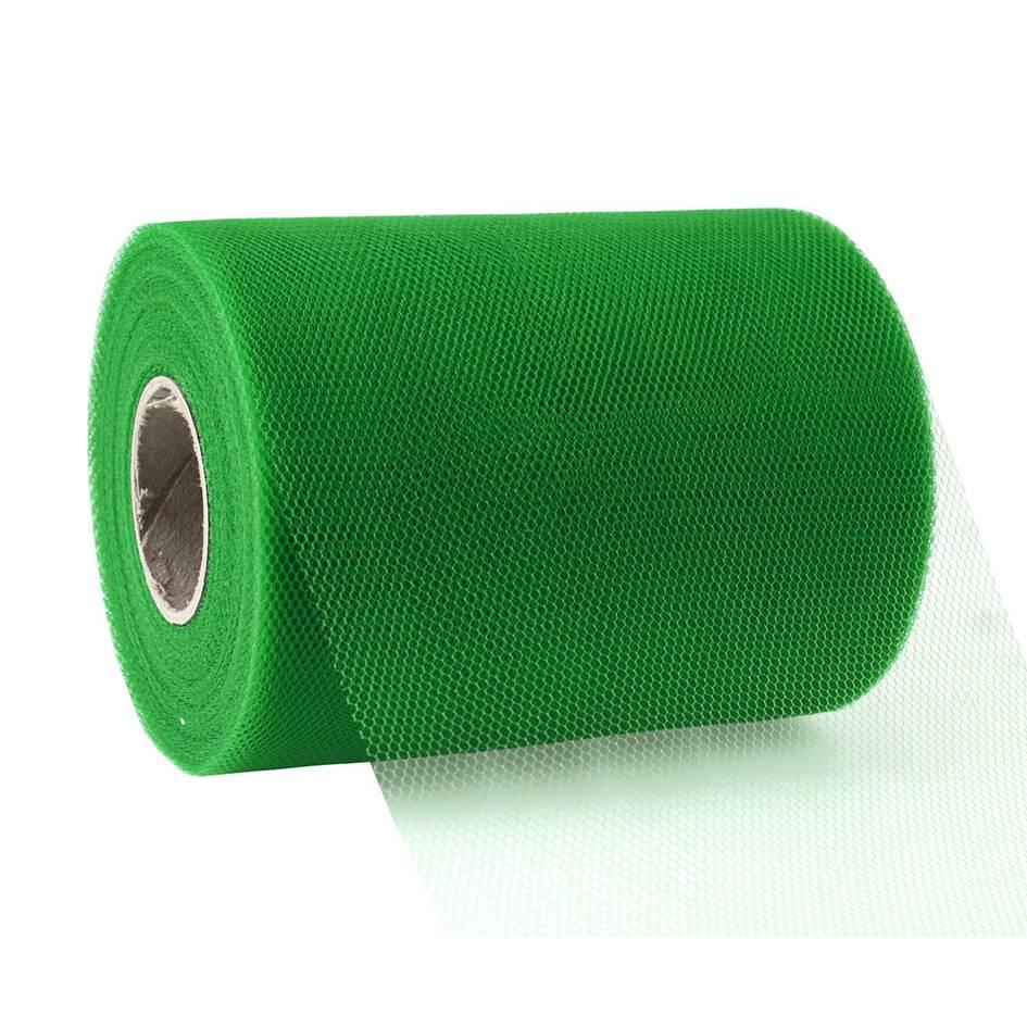 Ruban tulle 112 mm x 50 m vert