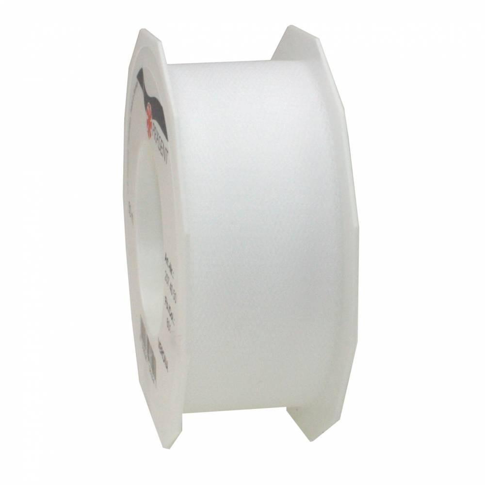 Ruban tulle 40 mm x 50 m blanc