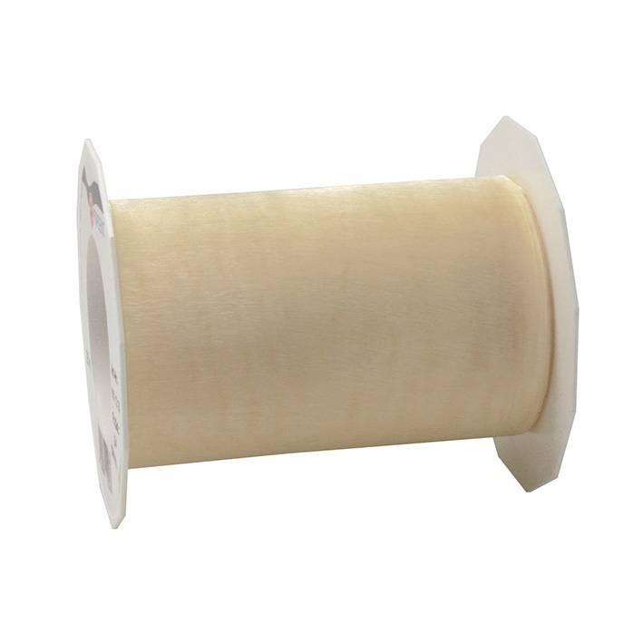 Ruban effet gaze 112 mm x 25 m crème