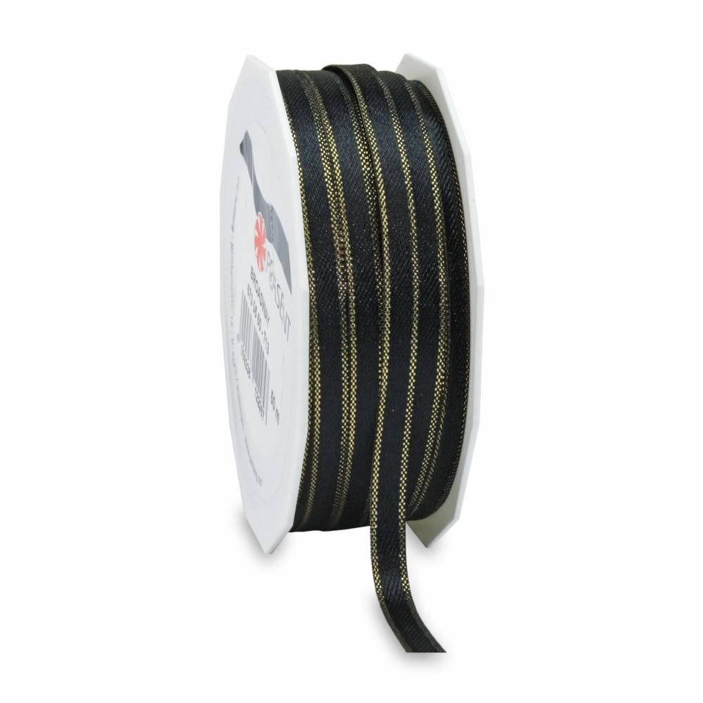Ruban noir mat spécial noël 05 mm x 50 m