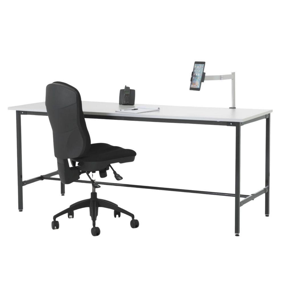 Table multi-usages avec repose-pieds - L200cm P80cm H85cm