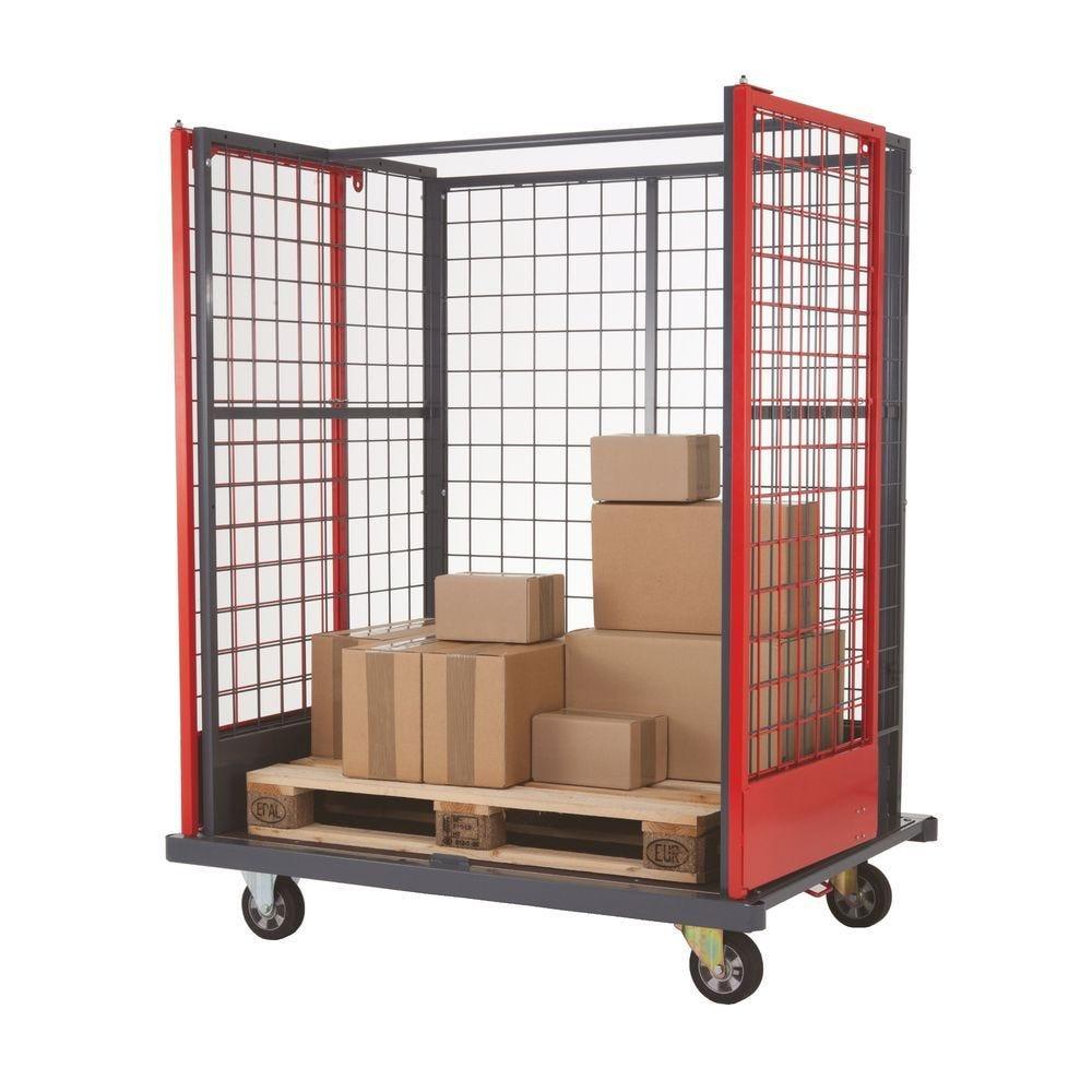 Chariot logistique pour charges volumineuses - L154,4cm x l115cm x 192 cm