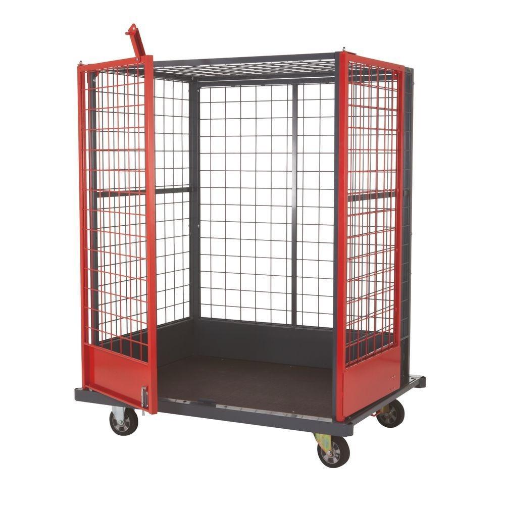 Chariot logistique pour charges volumineuses - L154,4cm x l115cm x 192cm