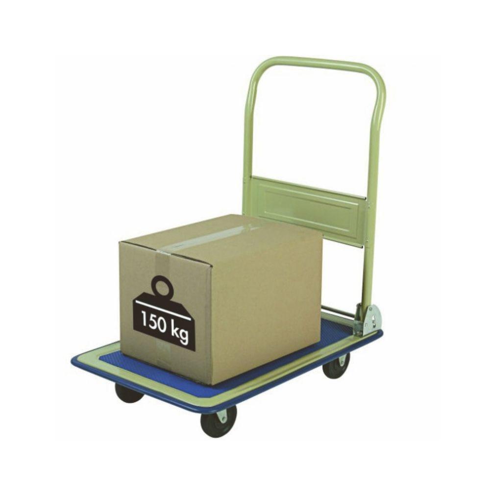 Chariot pliant éco charge 150kg - L74cm x l48cm x H80cm