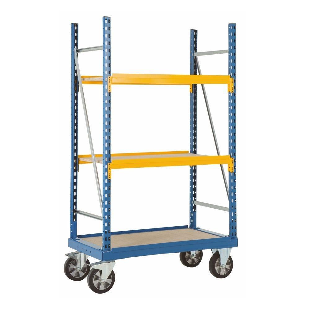 Chariot pour fortes charges 1200kg - L 142,6cm x P62cm x H191cm