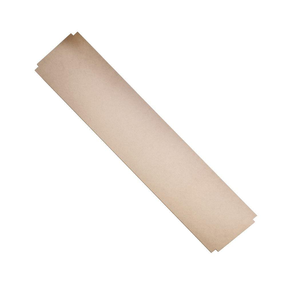 Recouvrement fibre pour tablette tubulaire ICARE L121cm x P35cm - Lot de 5