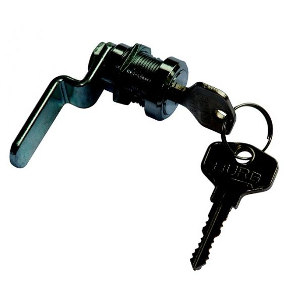 Serrure 2 clés