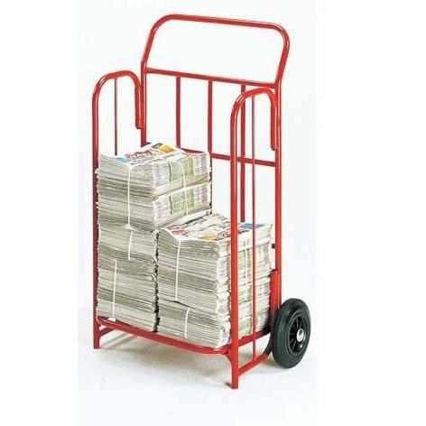 Diable spécial transport de journaux charge 150 kg (photo)