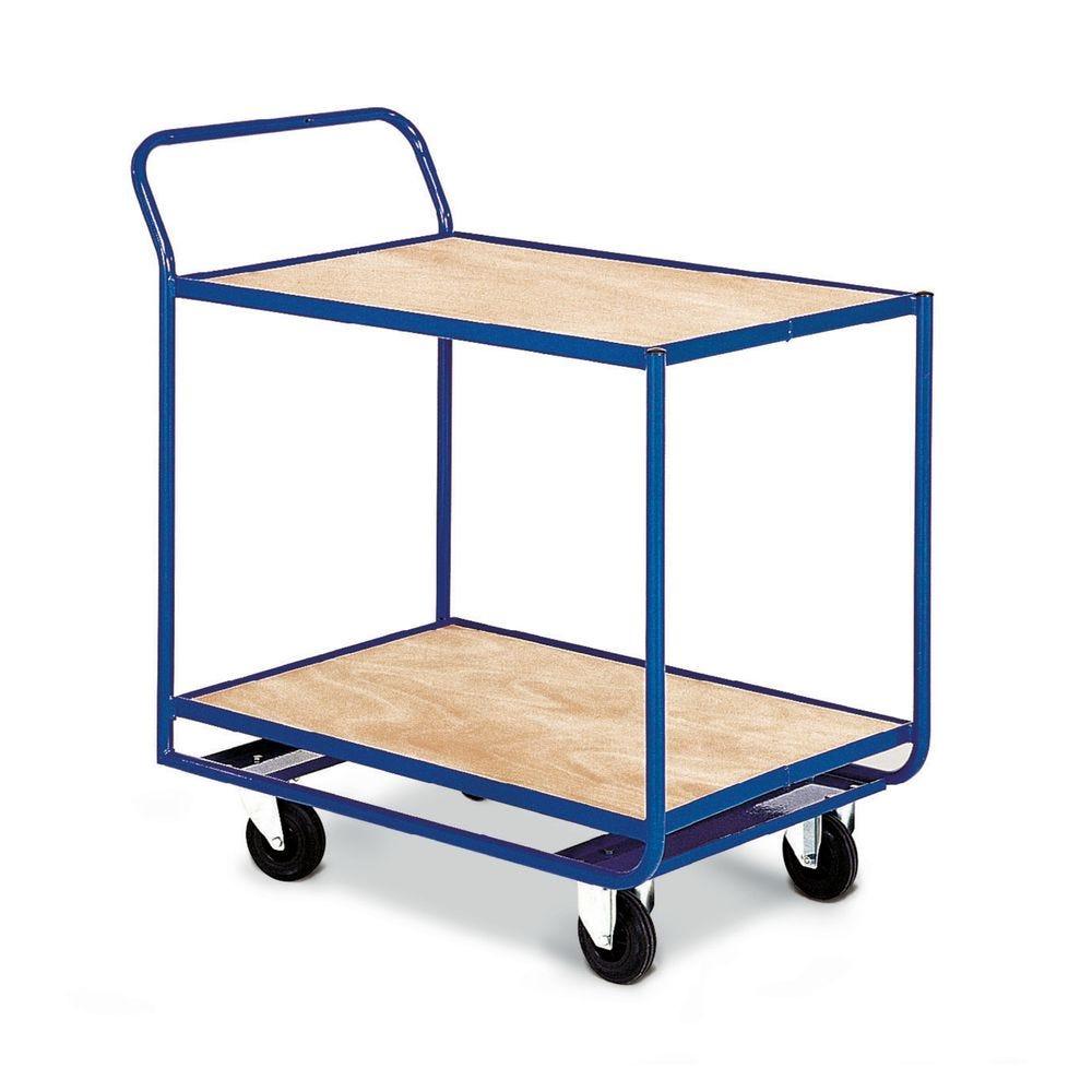 Chariot de magasinage à niveaux fixes charge 300 kg (photo)