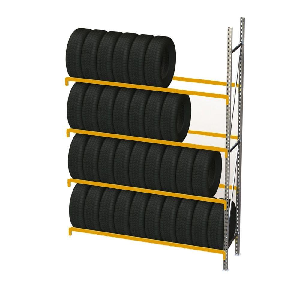 Rack à pneus prorack+ longueur 1300 mm et hauteur 2400 mm - elément suivant (photo)