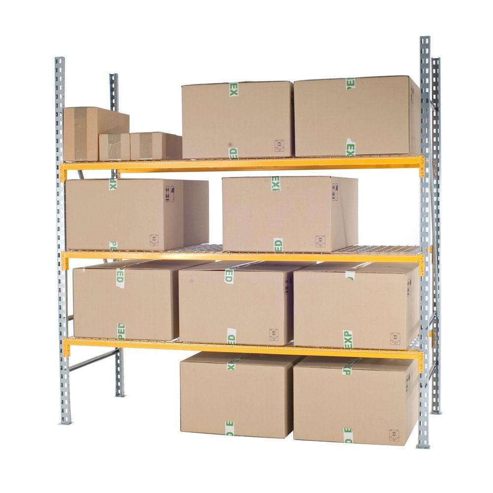 Prorack pour cartons vpc profondeur 800 mm. Elément départ (photo)