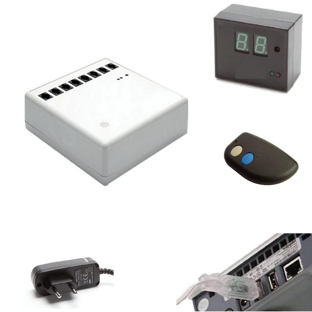 Antivol pack sécurisation filaire 8 ordinateurs portables (photo)