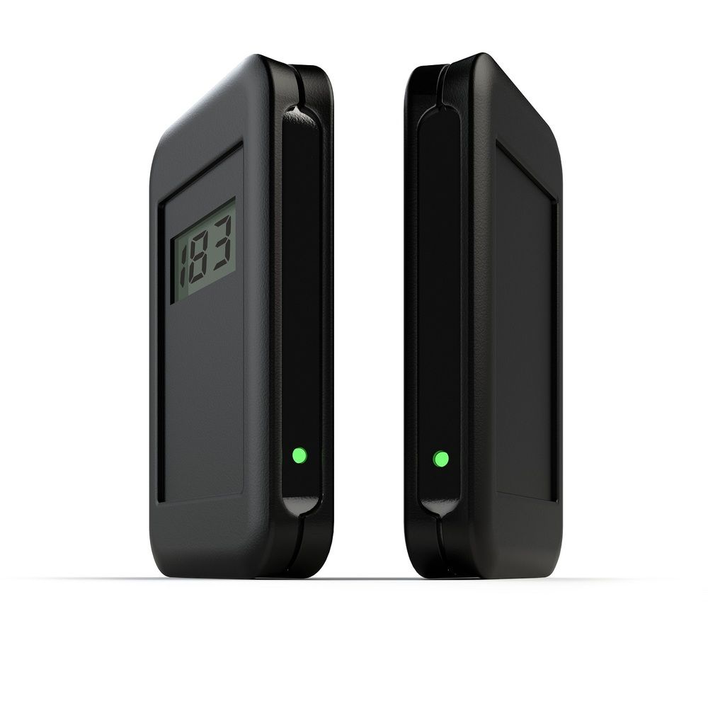 Compteur de passage latéral sur batterie - distance max 5 métres