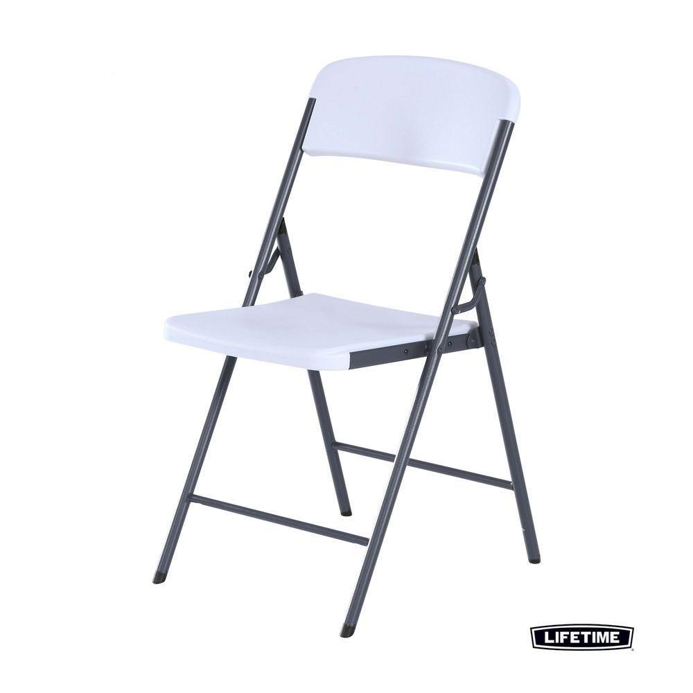 Chaise pliante blanche - LIFETIME - par 12